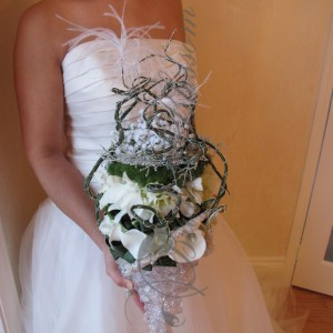 112 Contemporary bridal bouquet