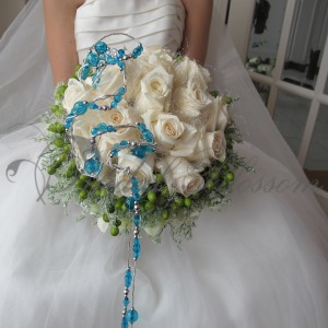 114 Modern bridal bouquet