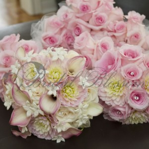 126 Bridesmaids bouquet