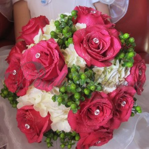 146 roses and berries