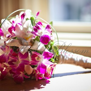 149 Orchids bridal bouquet