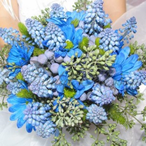 164 blue spring bouquet
