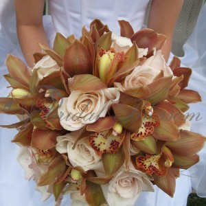167 Brown bridal bouquet (Copy)